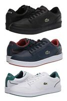 LACOSTE Masters Cup 120 2 Men's Casual Leather Fashion Shoes Sneakers Black Wht