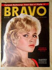 Bravo 25/1958 zum 60. Geburtstag - Brigitte Bardot, Rock Hudson - TOP