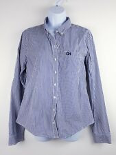 Gilly Hicks Shirt Taille L Large by Abercrombie & Fitch bleu et blanc rayures E
