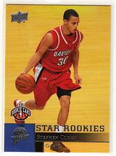 2009-10 Steph Stephen Curry Upper Deck Rookie Card SP RC Warriors MVP
