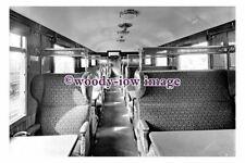 bb1230 - Railway - Train Carriage - Interior , 3rd class Dining 1924  photograph