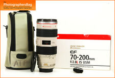Canon EF 70-200mm F2.8 L IS USM Zoom Objektiv für EOS SLR + Free UK Post