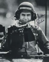 MICHAEL MIKE DUKAKIS SIGNED AUTOGRAPH  8X10 PHOTO 1988 ELECTION GULF WAR MILTARY