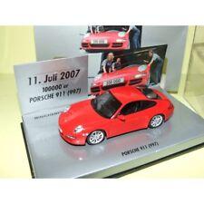 PORSCHE 911 CARRERA S 997 Rouge 100000 Exemplaire 11/07/2007  MINICHAMPS 1:43