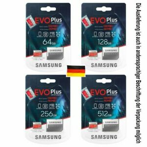 orig. SAMSUNG micro SD evo plus 32 - 512 GB