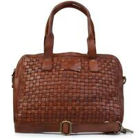 NEW Jo Mercer Biba Kansas Shoulder Bag Cognac Leather Accessories