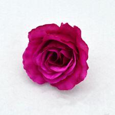 Artificial Fake Silk Flowers Rose Head Wedding Bride Bouquet Party Home Decor 3@