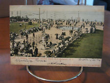 """1906 """"A Summer Afternoon At Ontario Beach Park, Rochester, N.Y."""" Postcard"""