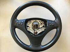 BMW E87 E81 E82 E88 LEATHER /CARBON WRAPPED MULTIFUNCTION STEERING WHEEL #2