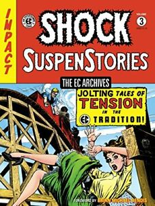 THE EC ARCHIVES SHOCK SUSPENSTORIES VOLUME 3 Graphic Novel - Dark Horse - Sealed