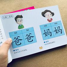 Preschool literacy Learn Chinese characters hanzi Pinyin Book for Kids Children