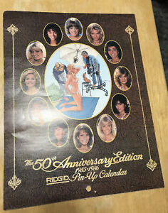 TT15 Ridgid Tool 50th Anniversary 1985 1986 Pin Up Calendar