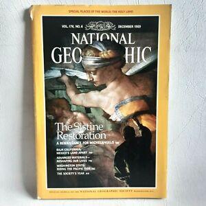 National Geographic Magazine December 1989