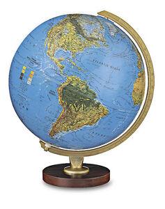 Replogle Livingston Illuminated 12 Inch Desktop World Globe