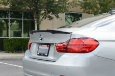 BMW F32 V STYLE ABS SPOILER 4 SERIES BOOT WING TRUNK REAR PERFORMANCE BLACK