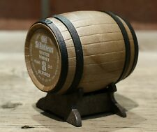 Old St. Andrews 8 Year Old Scotch Whisky Miniature Liquor in Replica Oak Barrel