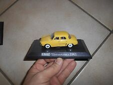 Renault Dauphine 1961 jaune Miniature collection altaya ou atlas