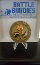 20th ANNIVERSARY MULTINATIONAL FORCE OBSERVERS SINAI DESERT EGYPT CHALLENGE COIN