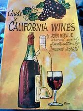 Guide to California Wines by John Melville (1972 Paperback)