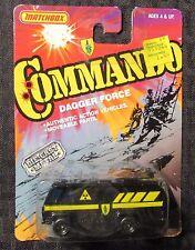 1988 Matchbox Commando Dagger Force MOC C-8