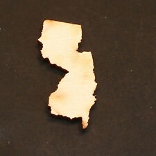 5 - New Jersey - 1-1/2 x 3/4 x 1/8 inch unfinished wood (NY15)