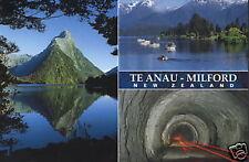 Postkarte: Te Anau and Milford Sound, Neuseeland