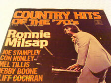 Ronnie Milsap Covers Country Hits Of The 70s  Magazine Winter 1980 Mel Tillis