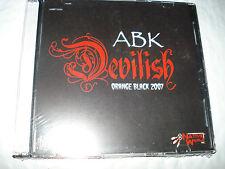 (NEW!) CD ABK DEVILISH ORANGE BLACK 2007 ULTRA-RARE RAP!! icp insane clown posse