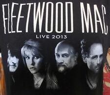 2013 FLEETWOOD MAC North American Tour Concert T Shirt Medium