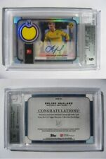 2019-20 Topps Museum Erling Haaland 18/24 autograph relics BGS 9 RC auto Rookie
