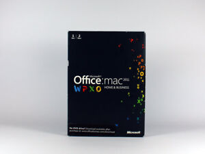 Office 2011 Home and Business, Retail-Vollversion mit DVD (Multipack), englisch