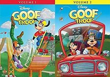 Disney's Goof Troop DVD Set Volume 1 & 2 Complete Series Collection All Goofy TV
