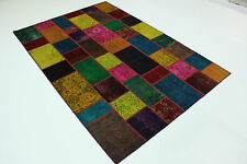 moderne Patchwork Délavé Used Look PERSAN TAPIS tapis d'Orient 3,00 x 2,01