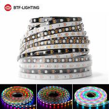 1-5M WS2812B LED Tira llevada RGB 5050 30/60LED/M Strip Light Direccionable DC5V