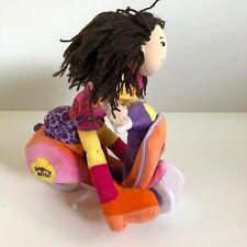 "Groovy Girls Manhattan Toy Co Scooter 10"" Plush Toy Stuff Animal & Kami Doll"