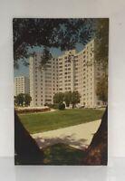 Parklabrea Towers in Los Angeles, California Vintage Postcard by George Szanik