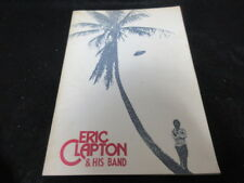 Eric Clapton 1974 Japan Tour Book Concert Program VG Copy Cream Derek & Dominos