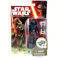 "Hasbro Star Wars Kylo Ren 4"" Action Figure 2015 The Force Awakens Black Series"