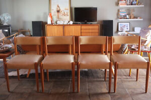 Eames Era Mid-Century Dining Chairs x 4