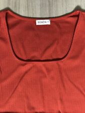 BONITA Shirt / Top - Gr. XL+ - Orange - w. NEU