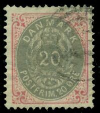 DENMARK #31 (34) 20ore bicolor, used w/light cancel, VF, Scott $32.50