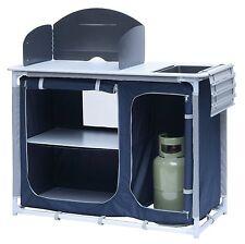 Campingküche mit Spülbecken Kocherschrank mit Windschutz Vorzelt-Küche KI-0753