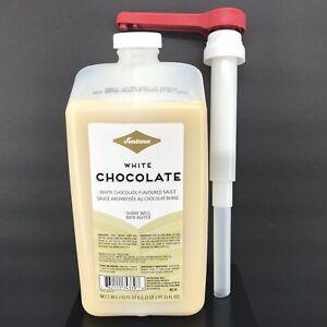 Fontana by Starbucks White Chocolate Mocha Sauce 63 oz. w/ Pump Best By 10/20