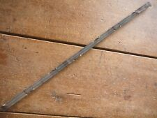 HARBAUGHS CAST IRON NON-TWISTED TORN EDGE RIBBON WIRE - ANTIQUE BARBED WIRE