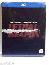 Lethal Weapon Blu Ray SteelBook UK Import Region FREE Zavvi Ultra Limited NEW
