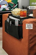 Arm Rest Organizer Remote Holder 6 Pocket Caddy Tray Couch Sofa Recliner Chair