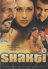 SHAKTI - SHAHRUKH KHAN - NANA PATEKAR - KRISHMA KAPOOR - NEW BOLLYWOOD DVD