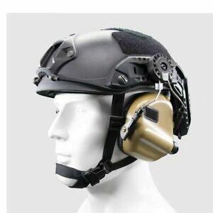 OPSMEN EARMOR Tactical Helmet Electronic Hearing Protector M31H MOD3 - BROWN *