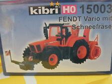Kibri 15003 HO Fendt Vario mit Schneefräse