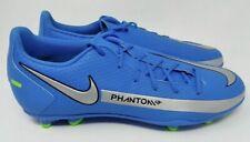 New listing NEW Men's Nike Phantom GT Club Mens Size 5 Soccer Shoes Blue Silver Green